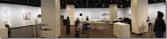 ガラス教育機関合同作品展 (GEN展) ギャラリーB パノラマ