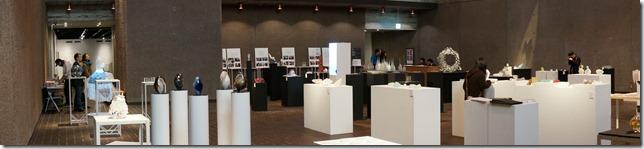 第7回 ガラス教育機関合同作品展ホールA