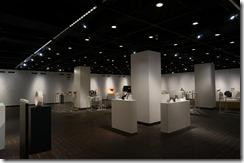 第7回 ガラス教育機関合同作品展ホールB