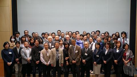 日本ガラス工芸学会 2015年度大会集合写真