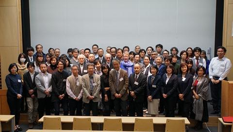 日本ガラス工芸学会 2015年度大会招待講演集合写真
