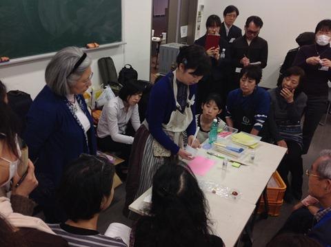 日本ガラス工芸学会 2015年度大会初日10/25大会付属ワークショップ