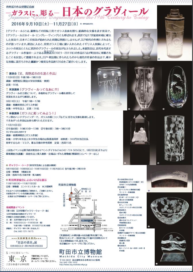 町田市立博物館「青野武市作品受贈記念