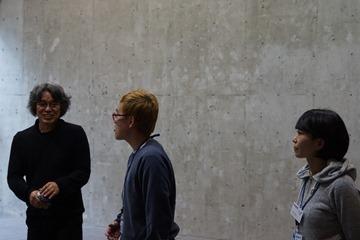 日本ガラス工芸学会2016大会 池本先生と多摩美スタッフの皆さん