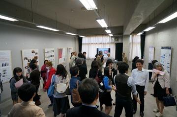 日本ガラス工芸学会2016大会パネル展示