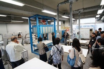 日本ガラス工芸学会2016大会 工房見学