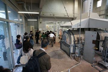 日本ガラス工芸学会2016大会 吹きガラス実演