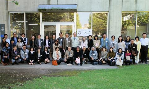 日本ガラス工芸学会2016大会記念写真