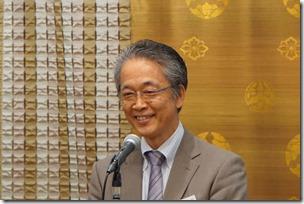 日本ガラス工芸学会創立40周年記念祝賀会中井泉会長挨拶